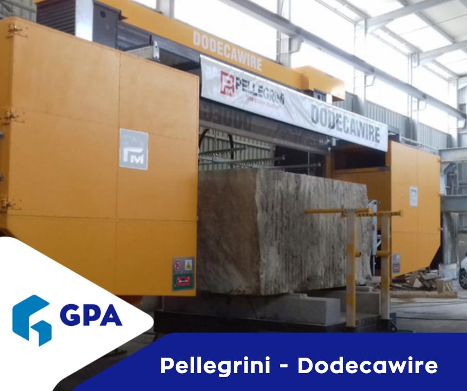 Instalação de Máquina PELLEGRINI DODECAWIRE em Granitos do Norte